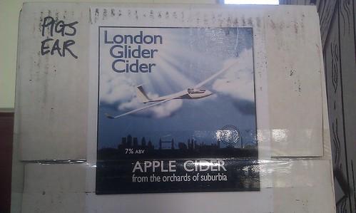 London Glider Cider - 2012 vintage