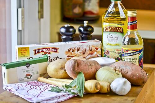Vegetable Tarte Tatin 23