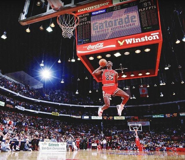 mejores fotografias de sports illustrated - michael jordan basketball