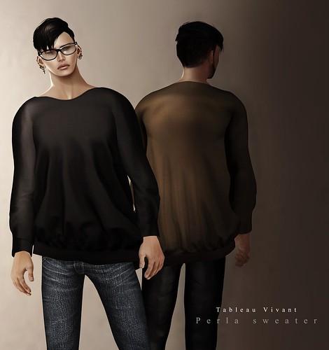 ~Tableau Vivant~ Perla sweater (men)