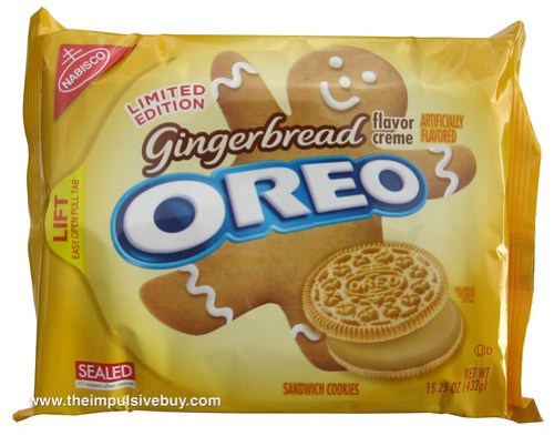 Limited Edition Gingerbread Oreo