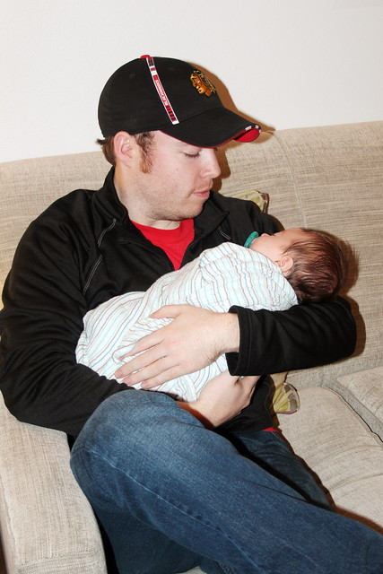 Uncle Chris meeting Harper