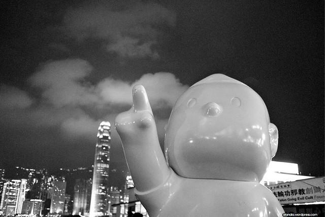 """天天向上 - """"A Better Tomorrow"""" Statue"""