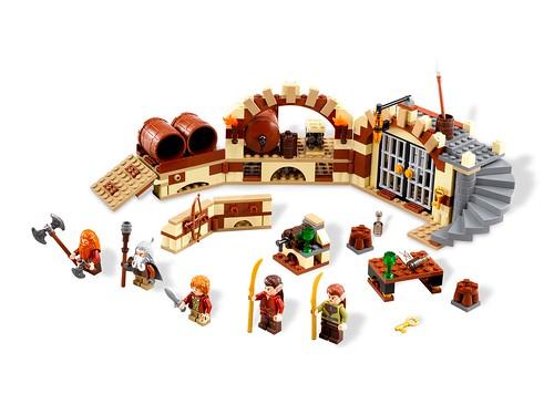LEGO The Hobbit 79004 Barrel Escape
