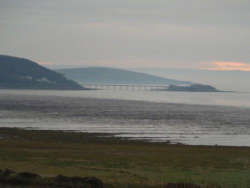 Brean Down, beyond the pier