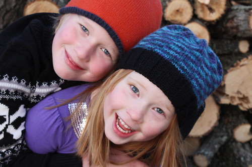 How adorable do I think my kids are? Pretty darn cute.