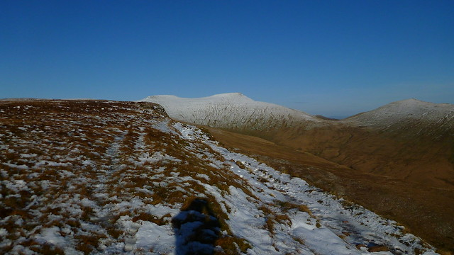 Pen-y-Fan, Cribyn, Corn Du