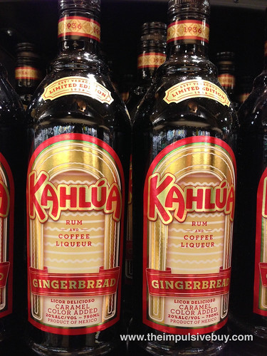 Gingerbread Kahlua
