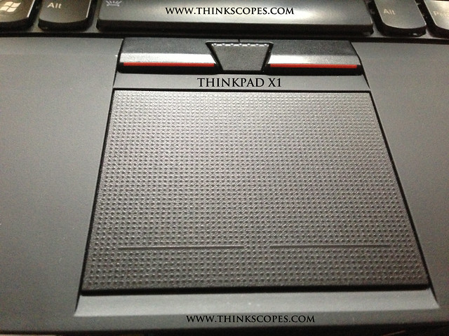 ThinkPad X1 TrackPad