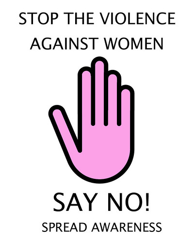 STOP THE VIOLENCE AGAINST WOMEN