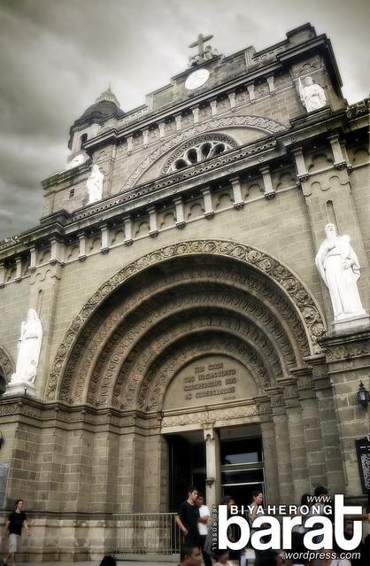 Manila Cathedral Intramuros Philippines