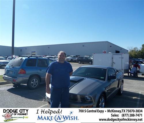 Dodge City - Chrysler Jeep Dodge Ram SRT McKinney Texas Customer Review - Bruce Arnold by Dodge City McKinney Texas