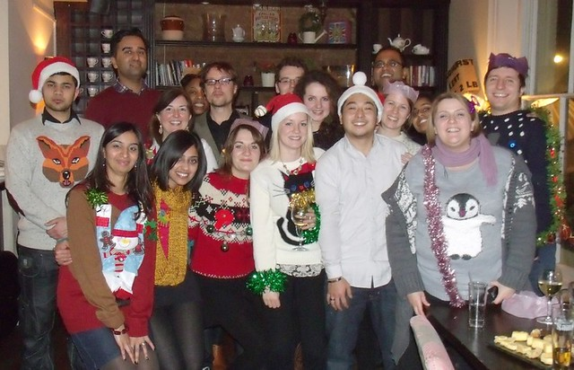 Healthy Planet staff & interns Xmas style