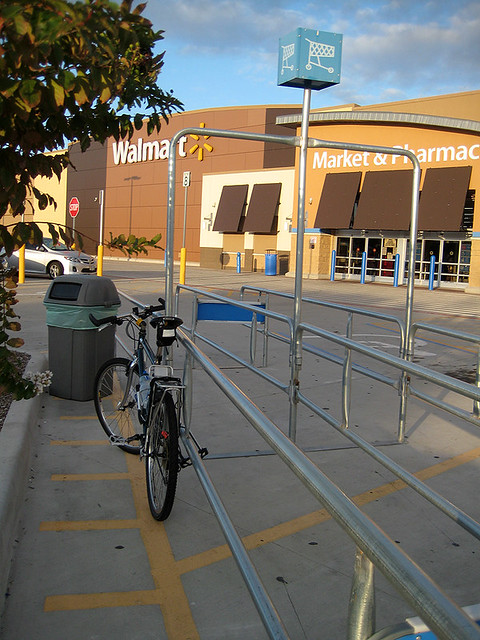 Bike Rack Fail