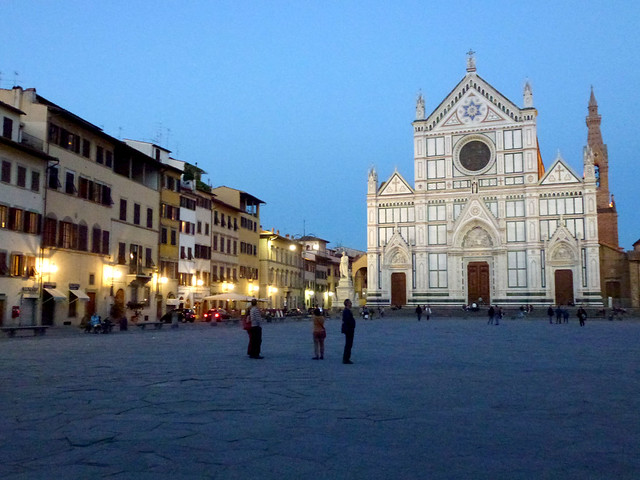 Florence - jour 1 - 114 - Piazza Santa Croce