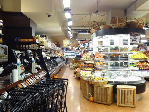 A ransacked grocer