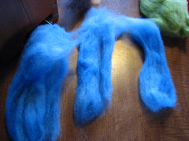 Sugar Coated Mitts - Targhee Spinning/Knitting Project