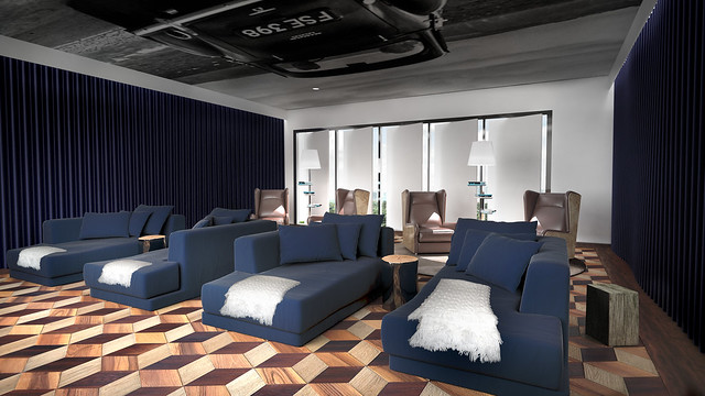 The Movie Room at Cielo