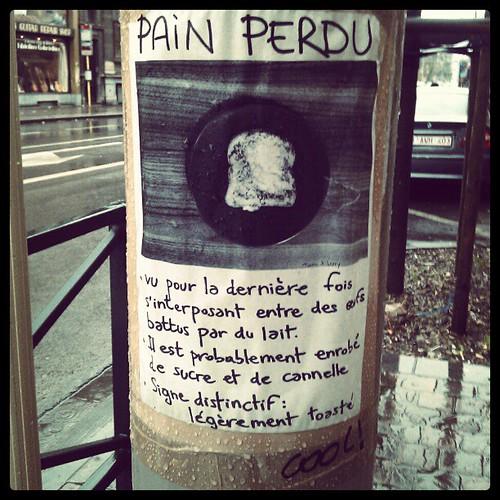 pain perdu #streetart #brussels
