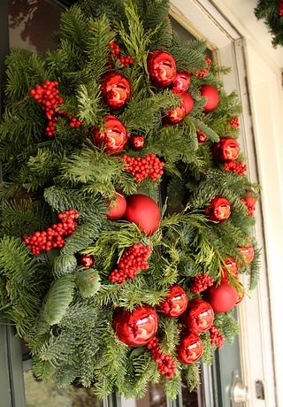 Christmas Wreath by Colonial House of Flowers