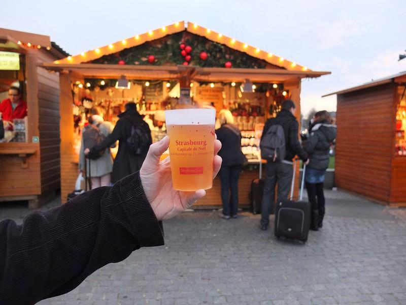Vin chaud - marché de Noel Strasbourg