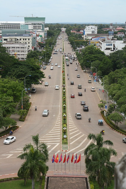 A view of Vientiane, Laos
