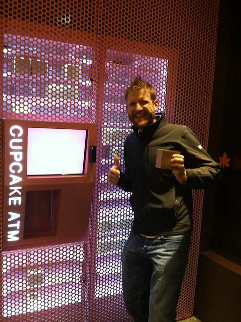 Cupcake ATM. Yeah we did.