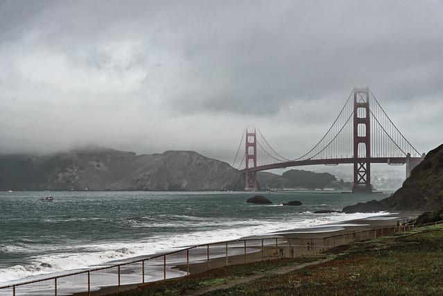Golden Gate #1 - Baker Beach - 2012