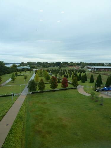 10-6-12 AR 19 - Little Rock, Clinton Library & Museum