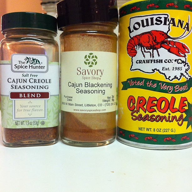I like me some Cajun spices yo