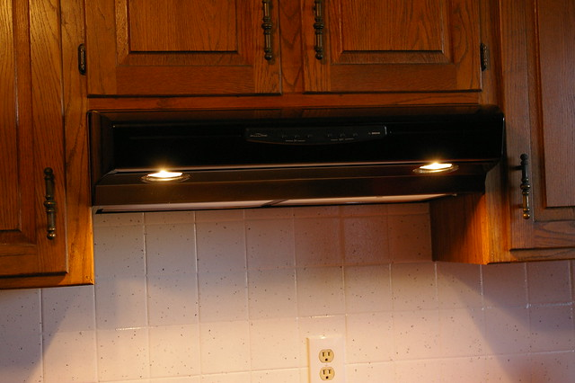 Second Range Hood Installed