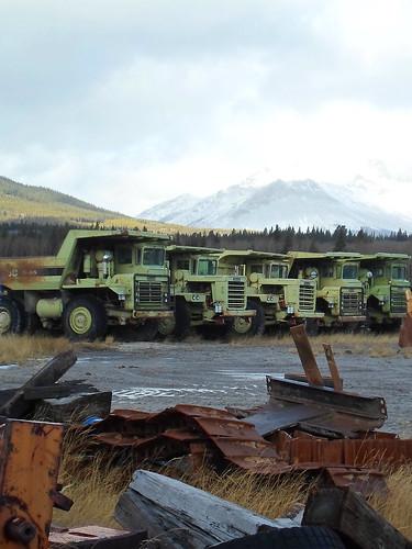Euclid Dump trucks