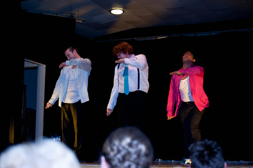Cabaret- Shawn's surprise performance