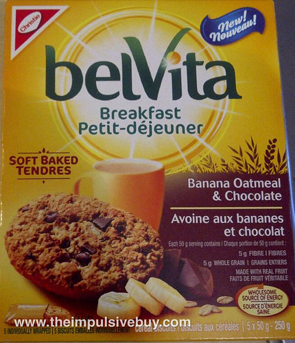 BelVita Banana Oatmeal & Chocolate