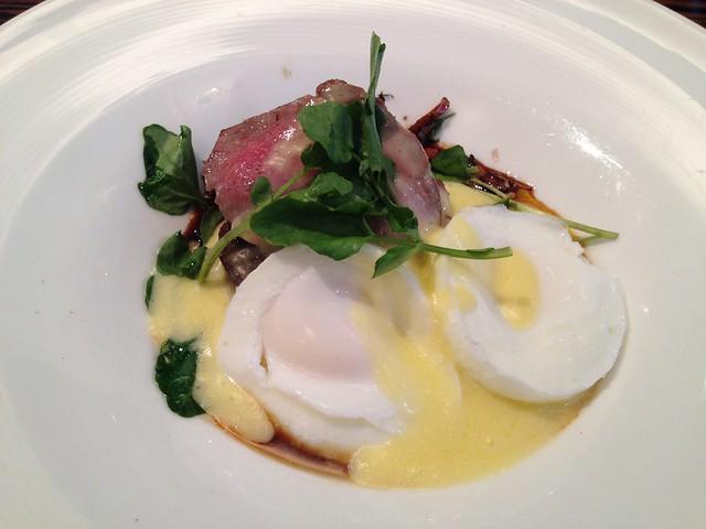 Ribeye steak and eggs - Twenty Five Lusk