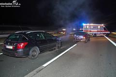 Verkehrsunfall A3 bei Breckenheim 25.11.12
