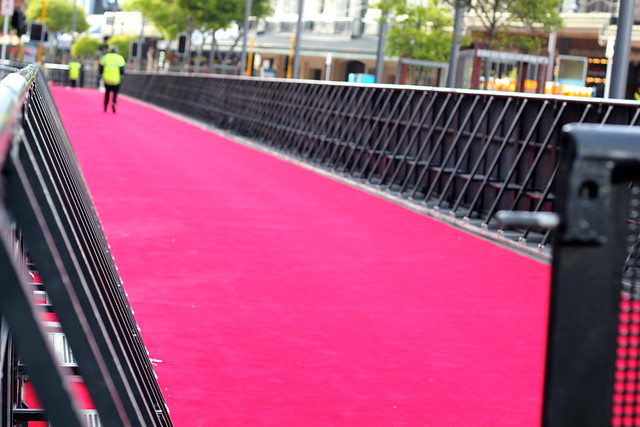 Wednesday: Hobbit red carpet
