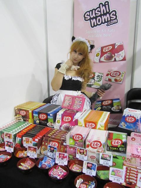 Japanese Kit Kats from Sushi Noms at Hyper Japan