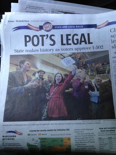 Pot's Legal in WA State by DRheins