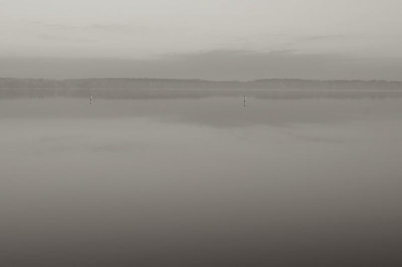 Foggy lake experiment
