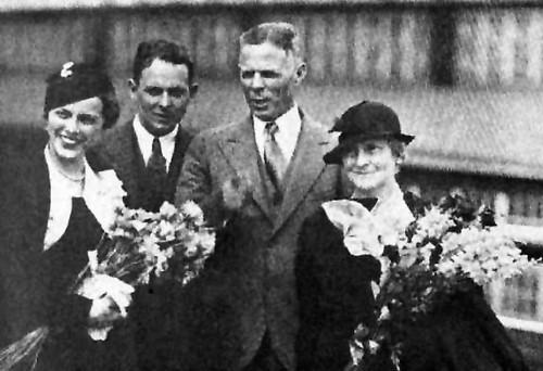 William E. Dodd e famiglia