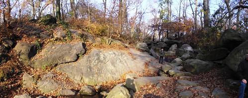 Where the stream flows through: Central Park, The Gill
