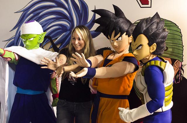 Goku el héroe.