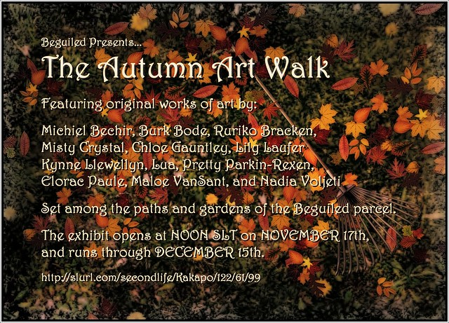Autumn Art Walk @ Beguiled 11/17-12/15