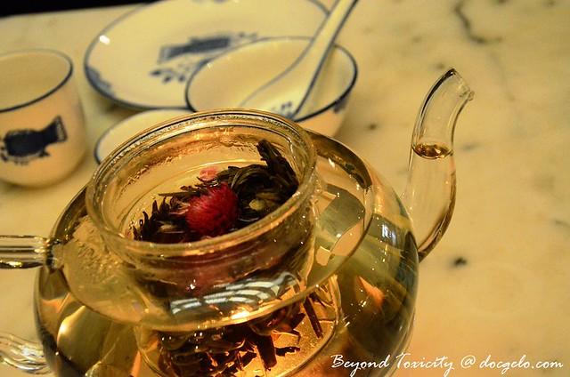 lily and jasmine tea