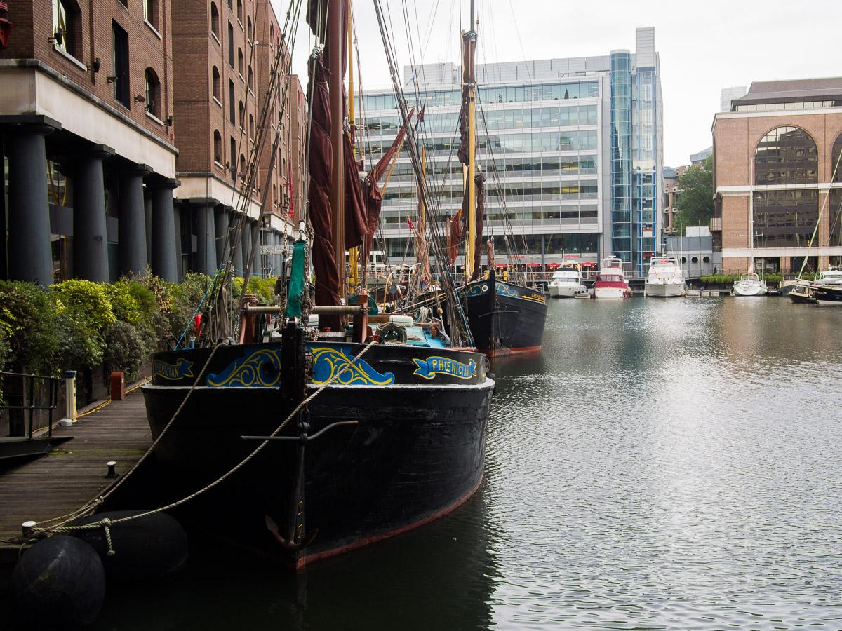 St Katharine's Docks