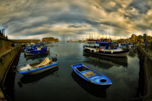 Heraclion port by dtsortanidis