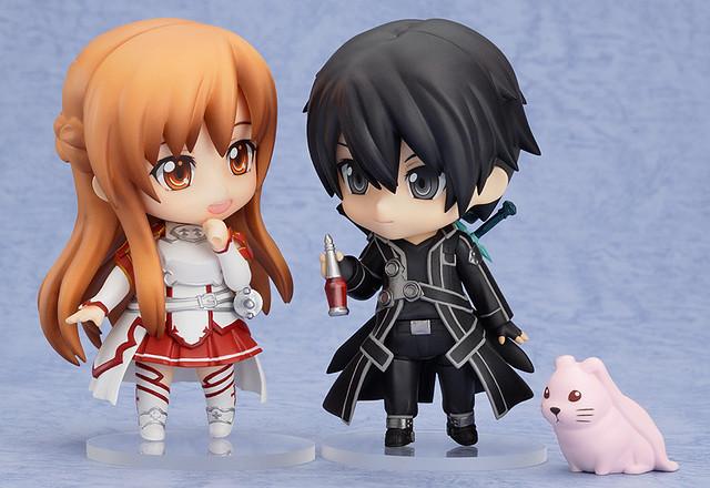 Nendoroid Asuna and Kirito