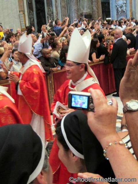Papal mass at the Vatican- Archbishop Luis Antonio Tagle