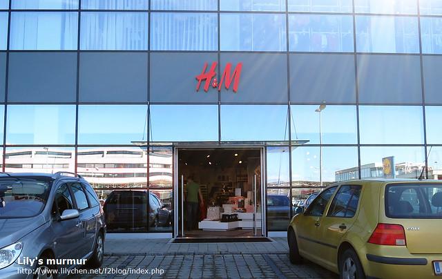 我之後在這間H&M敗了不少,新款好多,買的好開心!